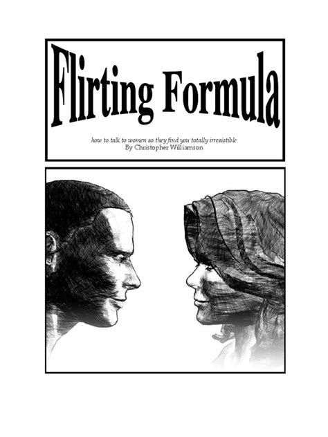 Flirting Formula Flirting Body Language - Scribd.